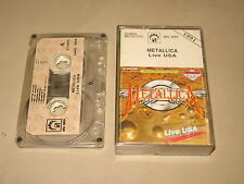 METALLICA - Live USA - MC Cassette tape 1991/2231