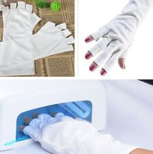 1 Pair Nail Anti UV Gloves for UV Light Lamp UV Protection Nail Dryer UV Gel NEW