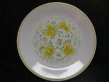 Corning Corelle April Yellow Flowers Dinner Plate EUC