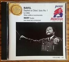 Ravel Daphnis et Chloe: Suite No. 1 CD RCA Victor Gold Seal, Monteux Edition