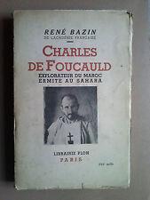 Charles de Foucauld  par René Bazin