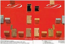 Publicité Advertising 1968 (2 pages) Les Briquets ST Dupont