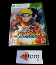 NARUTO SHIPPUDEN Ultim Ninja STORM Generations Xbox 360 PAL-España NUEVO xbox360