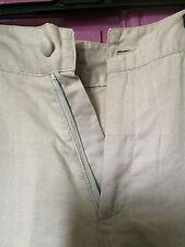 Pantalon en lin gris sans marque taille 40