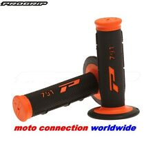 NEW PROGRIP 791 GRIPS BLACK ORANGE SOFT TOUCH KTM  SX85 SX125 SX150 SX250 SXF