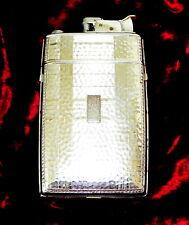 VINTAGE ART DECO LIGHTER AND CIGARETTE CASE BY EVANS