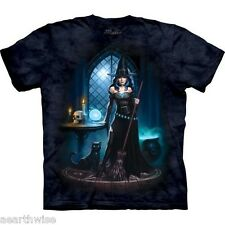 THE MOUNTAIN - WITCHES LAIR T-SHIRT - ADULT L -  Wicca Pagan Witch Goth