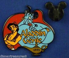 Disney Pin Aladdin with Genie and Magic Lamp 100 Years of Dreams #63 OC # 8116