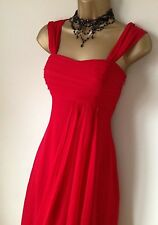 Stunning Coast Red Dress Sz 14 12 Vgc