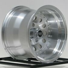 15 Inch Machined Wheels Rims Chevy S10 Blazer GMC S15 2WD 5 LUg 5x4.75 15x10""