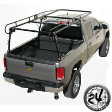 Universal Contractor Pickup Truck Tool Ladder Lumber Rack Loads up to 1000 lbs