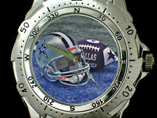 Dallas Cowboys Sport Team Logo Design Round Stainless Steel Watches