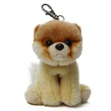 NEW PLUSH SOFT TOY GUND ITTY BOO Bag Clip The World Cutest Dog Fluffy Pomeranian