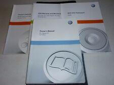 2011 VW PASSAT CC OWNERS MANUAL SET GUIDE 11 w/case VOLKSWAGEN CC