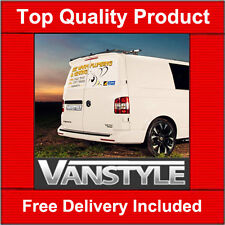 VW T5 REAR TWIN BARN DOORS SPOILER QUALITY SPORTLINE STYLE NOT CHEAP FIBREGLASS