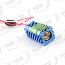 532nm 50mW Green Laser DOT Module for Locating with 12VDC Glass Lens