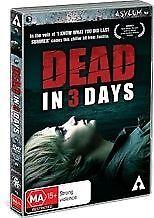 Dead In 3 Days (DVD, Horror / Thriller) New/Sealed!