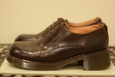 Brown made in England chunky heel oxford DR. MARTENS UK size 6