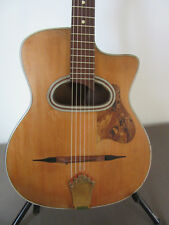 Di Mauro Boogie Woogie gypsy jazz guitar + Inghilleri pickup. Early Fifities.