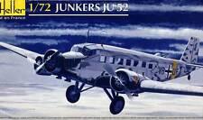 Heller - Junkers Ju-52/3m  Luftwaffe Flugschule Modell-Bausatz 1:72 NEU Tipp OVP