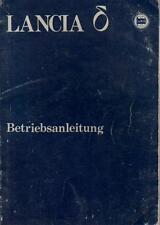 LANCIA DELTA  δ 1 Betriebsanleitung 1980 Bedienungsanleitung 831 Bordbuch BA
