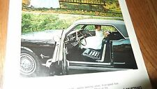 ★★1966 MUSTANG COUPE AD-66 FORD PHOTO BLACK★★