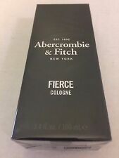 NEW & SEALED ABERCROMBIE & FITCH A&F FIERCE COLOGNE 3.4 oz. 100ml GENUINE!