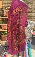 AWESOME NEW HAREM TROUSERS UK SIZE 8 10 12 14 PANTS BOHO GYPSY YOGA DREADS