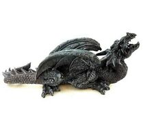 Dragon Wall Hanger Plaque Perching Statue Figurine Sculpture Art Decorative.Cool