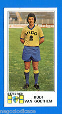 FOOTBALL 1976 BELGIO -Panini Figurina-Sticker n. 104 - VAN GOETHEM -BEVEREN-Rec