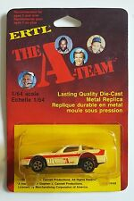 RARE New MINT Vintage 1983 Ertl The A-Team Templeton Face Peck Diecast Corvette