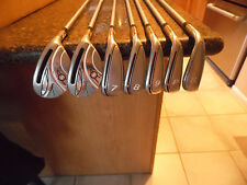 Nice 11 club Lady Adams Idea hybrid iron set w/Adams & TaylorMade woods!!