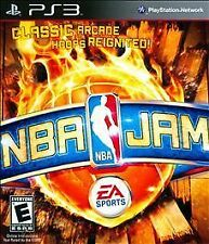 NBA JAM Sony PlayStation 3 PS3 2010 Complete Arcade Basketball Game
