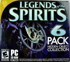 Legends of the Spirits Hidden Object 6-Pack LN NEW OPEN BOX UNUSED GAME