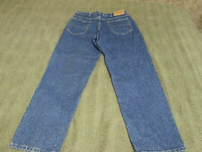 "RIDERS TAPERED LEG COTTON DENIM BLUE JEANS MEN SIZE 33X30 32"" WAIST 29"" INSEAM"