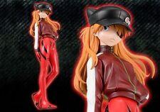 Sega Prize Evangelion EVA Movie Asuka Langley Shikinami Hat Ver Premium Figure