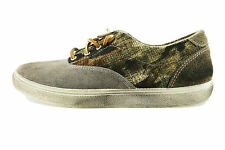 scarpe uomo BEVERLY HILLS POLO CLUB 41 sneakers beige tessuto camoscio AH990-C