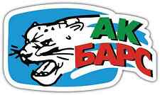 "Ak Bars Kazan KHL Hockey Car Bumper Window Locker Sticker Decal 6""X3"""
