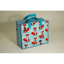 Crafty Fox - Sky Blue Holdall Craft Knitting Sewing Bag
