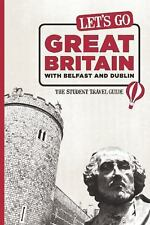 Let's Go Great Britain with Belfast & Dublin: The Student Travel Guide-ExLibrary