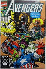 The Avengers #330 (Mar 1991, Marvel) Vision Quasar Sersi She-Hulk (C2802)