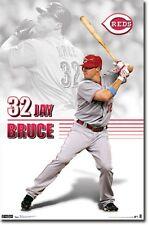 Cincinnati Reds Jay Bruce MLB Poster Print 22x34 T3581