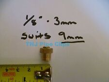 "Brass Radiator Air Bleeding Valve 1/8"" / 3mm *TO SUIT 9mm RADIATOR HOLE*"
