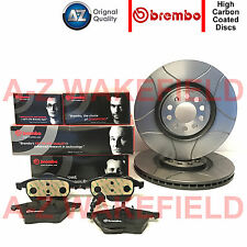FOR AUDI S3 TT SEAT IBIZA LEON VW GOLF FRONT BREMBO BRAKE DISCS PADS SET 312mm