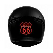 Route 66 transparent - autocollant sticker voiture moto blanc
