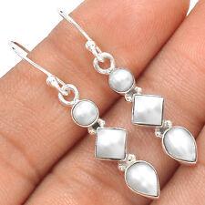 Pearl 925 Sterling Silver Earrings Jewelry SE135816