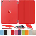 Thin Magnetic PU Leather Smart Back Case Front Cover For iPad 2/3/4 Air & Mini