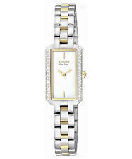 New Citizen Eco-Drive EG2784-58A Silhouette Womens Watch