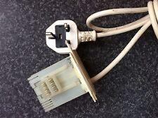 Indesit widl 102 lave-linge sèche-linge suppresseur/secteur filtre avec cordon d'alimentation/câble