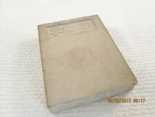 Vintage PIKE Crystolon Sharpening Stone